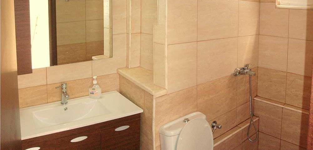 εσωτερικοί χώροι μπάνιο