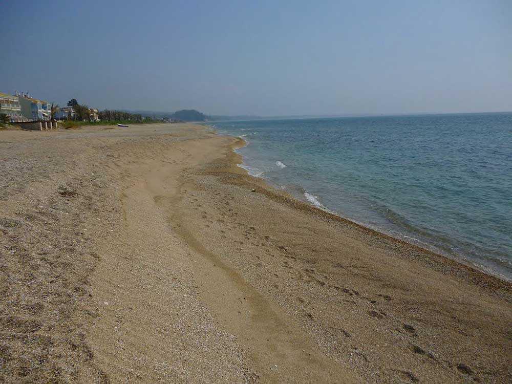παραλία κανάλι πρέβεζας